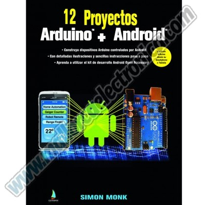 12  PROYECTOS  ARDUINO + ANDROID