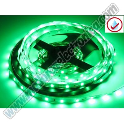 TIRA LED VERDE ALTA P 14,4W x METRO IP-65 RC- 12V led SMD