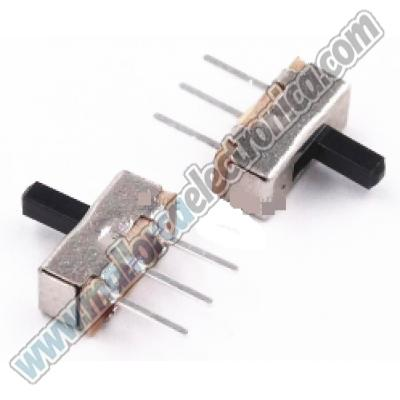 Interruptor Mini  3 Pins deslizante 2 posiciones on / off /